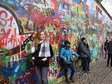 John Lennon wall, photo: Jekaterina Staševska