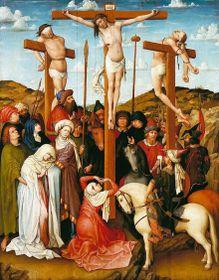 Распятие Иисуса Христа, автор: Робер Кампен