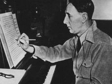 Bohuslav Martinů à New York 1942, photo: Fond B.Martinů Polička