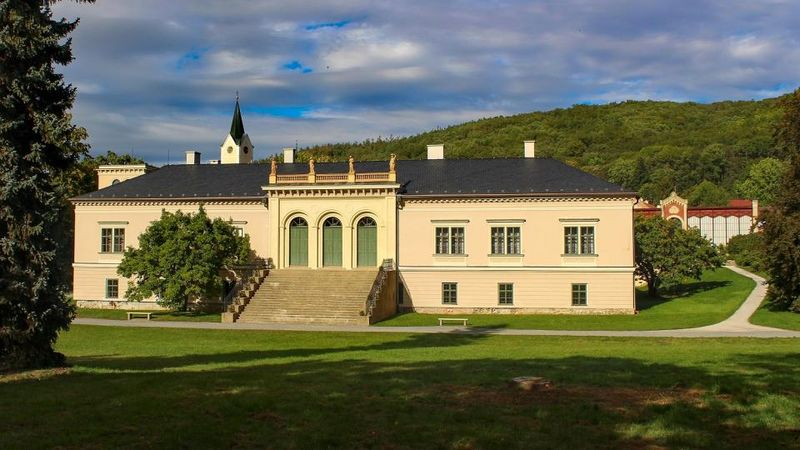 Château de Čechy pod Kosířem, photo: Aleš Spurný, ČRo
