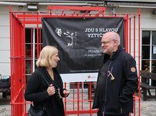Rut Kolínská und Petr Marek (Foto: Martina Schneibergová)