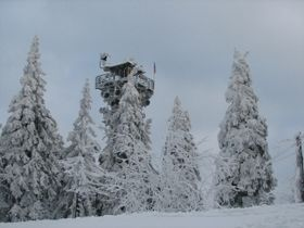 El mirador construido en el Monte Negro, Janské Lázně, foto: Kristýna Maková