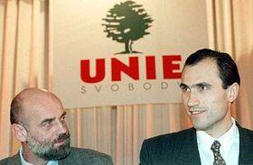 Jan Ruml (vlevo) aIvan Pilip, foto: ČTK