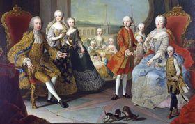 Мария Терезия в кругу семьи