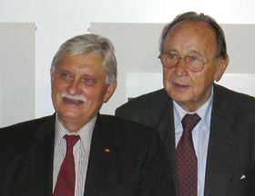 Jirí Dienstbier und Hans-Dietrich Genscher (Foto: Gerald Schubert)