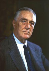 Franklin Delano Roosevelt, foto: Leon A. Perskie, Flickr, CC BY 2.0