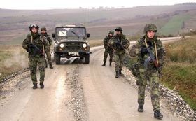 Czech soldiers in Kosovo, photo: archive of Czech Army