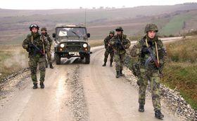 Чешские солдаты в составе сил KFOR Косово, Фото: архив Армии ЧР