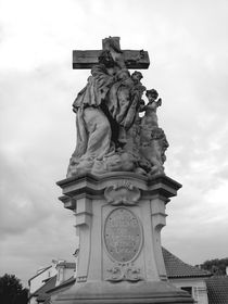 Statue de sainte Lutgarde, photo: Radio Prague