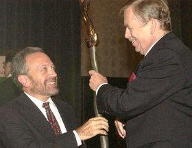 Роберт Рейх и Вацлав Гавел, фото: ЧТК