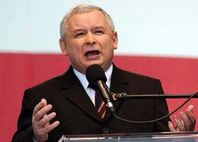 Prime Minister Jaroslaw Kaczynski, photo: CTK