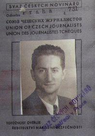 Ondřej Sekora, photo: repro Deníky Ondřeje Sekory 1944-1945 / Plus