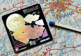 The smallest map of the Czech Republic, photo: CTK