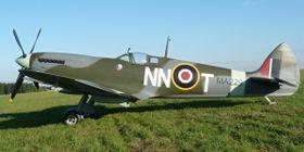 Maketa spitfiru, foto: archiv Czech Spitfire Clubu