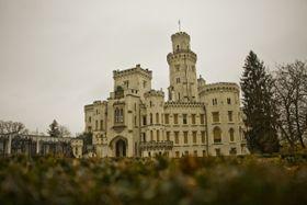 Schloss Hluboká nad Vltavou (Foto: Vít Pohanka, Archiv des Tschechischen Rundfunks)