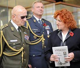 Vlasta Parkanová při udílení resortních vyznamenání, foto: ČTK