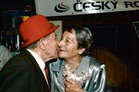 Эмиль Затопек и Дана Затопкова, фото: Архив Чешского радио