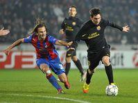 Petr Jiráček, Lionel Messi, photo: CTK