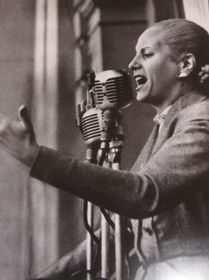 Eva Perón, foto: Bilinmiyor - Salón Mujeres del Bicentenario (Casa Rosada) / Kamu Malı