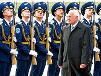 Václav Klaus na návštěvě Ruska, foto: ČTK