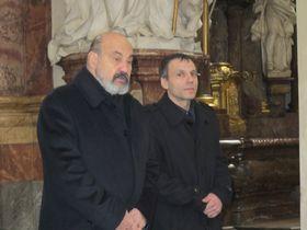 Tomáš Halík (links). Foto: Martina Schneibergová