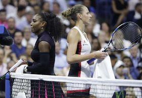 Serena Williams y Karolína Plíšková, foto: ČTK
