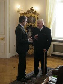 Peter Weiss, Miroslav Kusý, photo: Dominik Jůn