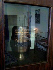 Urna con los restos mortales de Eduard Ingriš