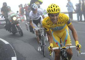 Alberto Contador et Andy Schleck, photo: CTK