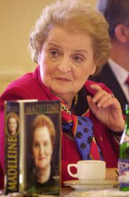 Madeleine Albright, photo: CTK