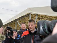 Tomáš Petříček à Marioupol, photo: ČTK/Milan Syruček