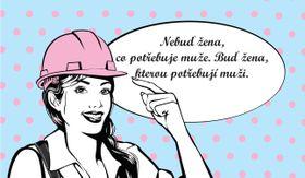 «Не будь женщиной, нуждающейся в мужчинах. Будь женщиной, в которой нуждаются мужчины», Фото: официальный фейсбук общества Gender Studies / Girlsday 2016