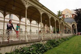 Садовая колоннада, Карловы Вары, Фото: Магдалена Кашубова, Чешское радио - Радио Прага
