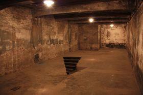 Gaskammer in Auschwitz (Foto: Barbora Kmentová)