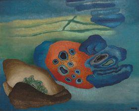 Pintura de Toyen, fuente: GASK