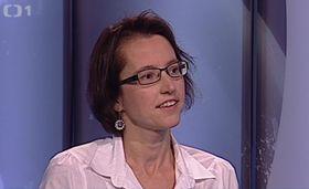 Klára Boumová, foto: ČT