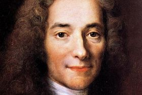 Voltaire, source: public domain
