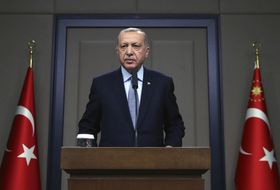 Recep Tayyip Erdogan, photo: ČTK/AP/Uncredited