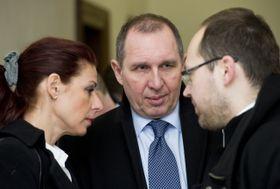 Катрежина Котова (Панцова) и ее супруг Петр Котт (в центре). Фото: ЧТК