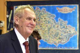 Miloš Zeman, photo: Roman Vondrouš/ČTK