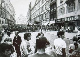 Le 21 août 1969, photo: Archives du Musée de la Police