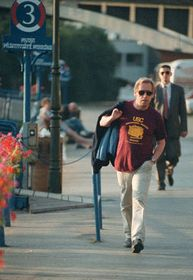 Václav Havel en 1992 después de la abdicación, Foto: CTK