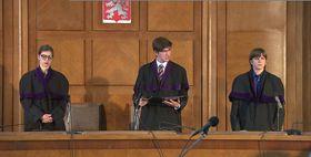 Studenti jako soudci vrekonstrukci politického procesu, foto: ČT