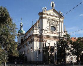 Kostel sv. Ignáce na Karlově náměstí, фото: Remi Diligent, public domain