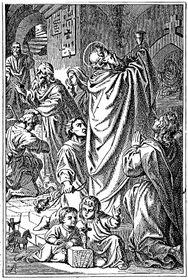 Svatý Silvestr, zdroj: Otto Bitschnau, Wikimedia Commons, Public Domain