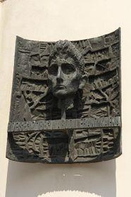 Placa conmemorativa a Franz Kafka en Praga, foto: © City of Prague