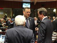 Petr Nečas, David Cameron, foto: Archivo del Gobierno checo