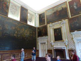 Obrazárna na zámku Duchcov, foto: Klára Stejskalová