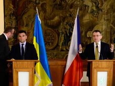 Pavel Klimkin, Lubomír Zaorálek, photo: CTK