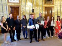 Le prix Česká kniha - Le Livre tchèque, photo: Site officiel de Cena Česká kniha